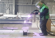 Zinc arc spraying